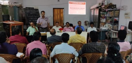 Worskhop on Research study about the intervention of various educational agencies in Attappady area