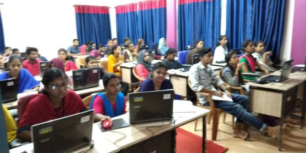 ICT training to the PSTE trainees at DIET