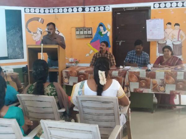 Material Development Workshop-Tamil Tendral..